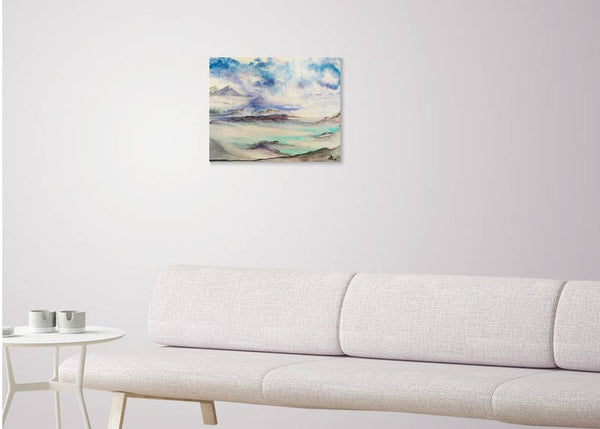 Landscape Painting, Original, Acrylic on Canvas, Nature, Wall Decor, Acrylic, Paintings, Home Decor,