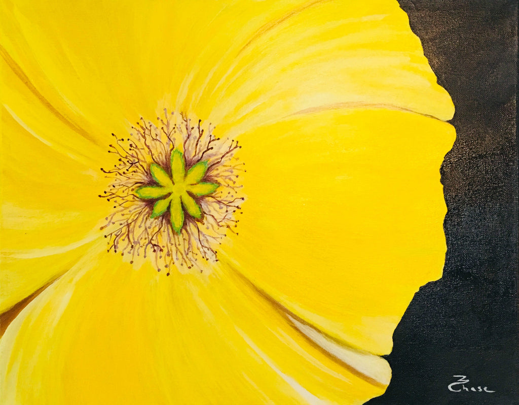 Acrylic Painting Flower Paintings Nature Acrylic On Canvas