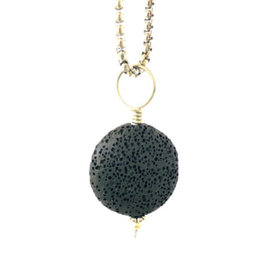 Lava Stone Diffuser Necklace