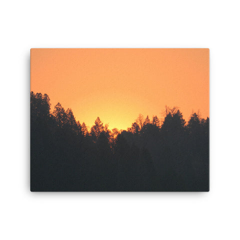 Wyoming Sunrise - Rise and Shine 111 -  Canvas Photo Prints