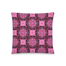 Boho Pink Throw Pillow