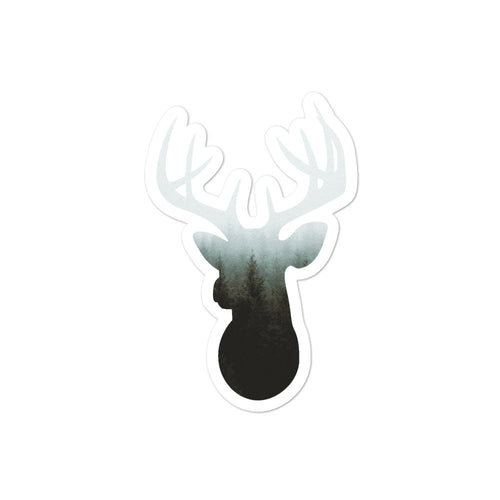 Elk Spirit Animal Bubble-free stickers
