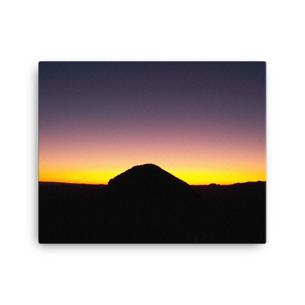 Colorado Sunset Canvas Photo Print - 102 Identity