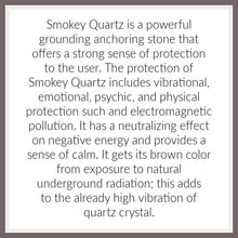 Tabular Smokey Quartz