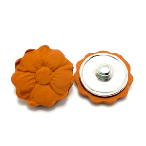 Snap Bracelet Diffuser Clay Charms Flower
