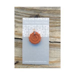 Clay Diffuser Necklace Spiral