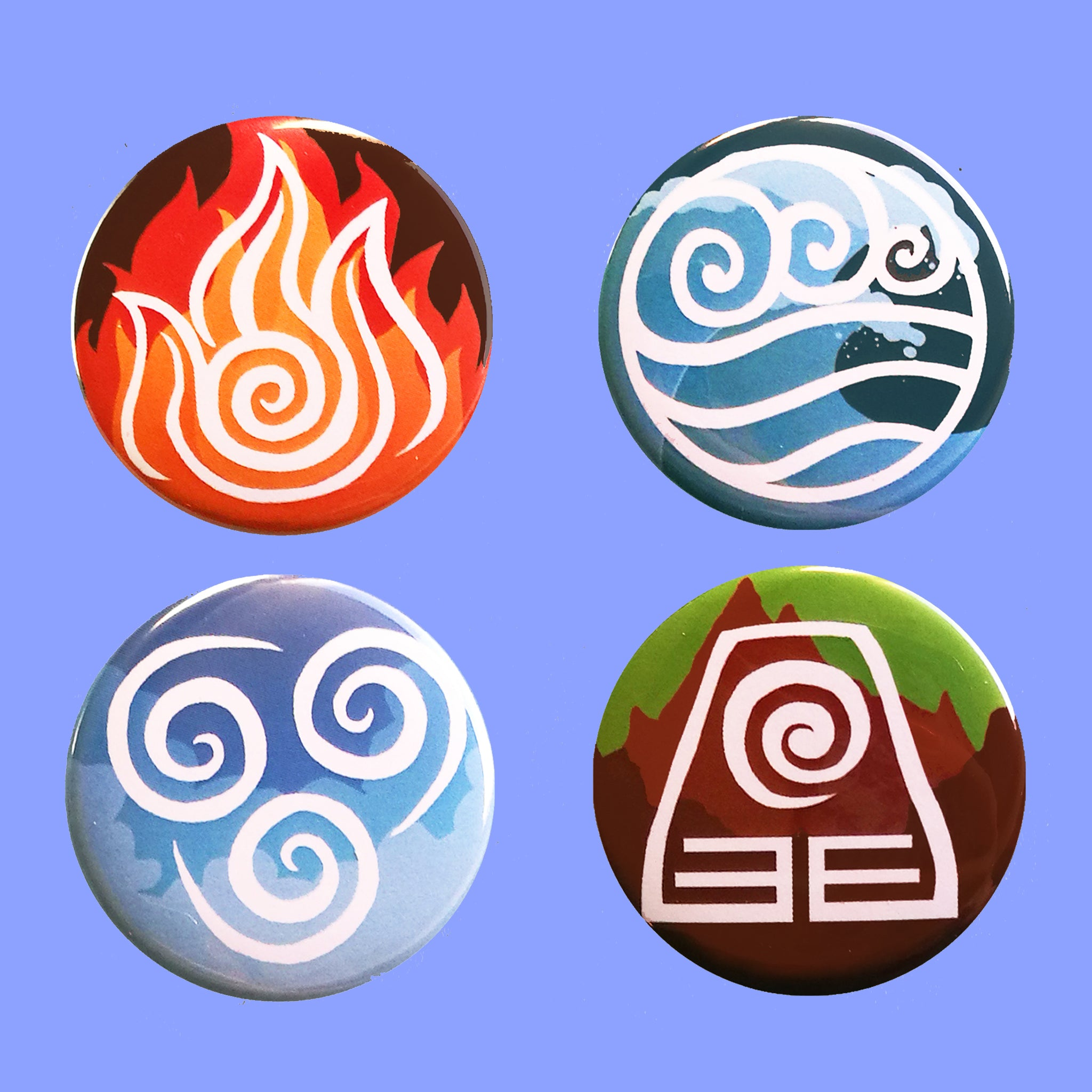 AVATAR Badges: The Four Elements