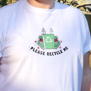 Please Recycle Me Unisex T-SHIRT