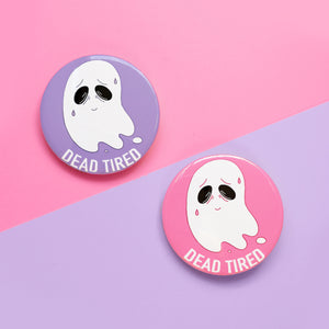 Dead Tired Ghost Badges