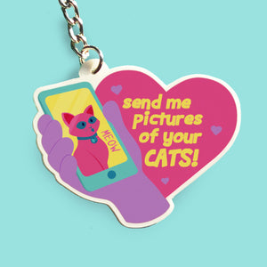 Send me pictures of your CAT Keychain