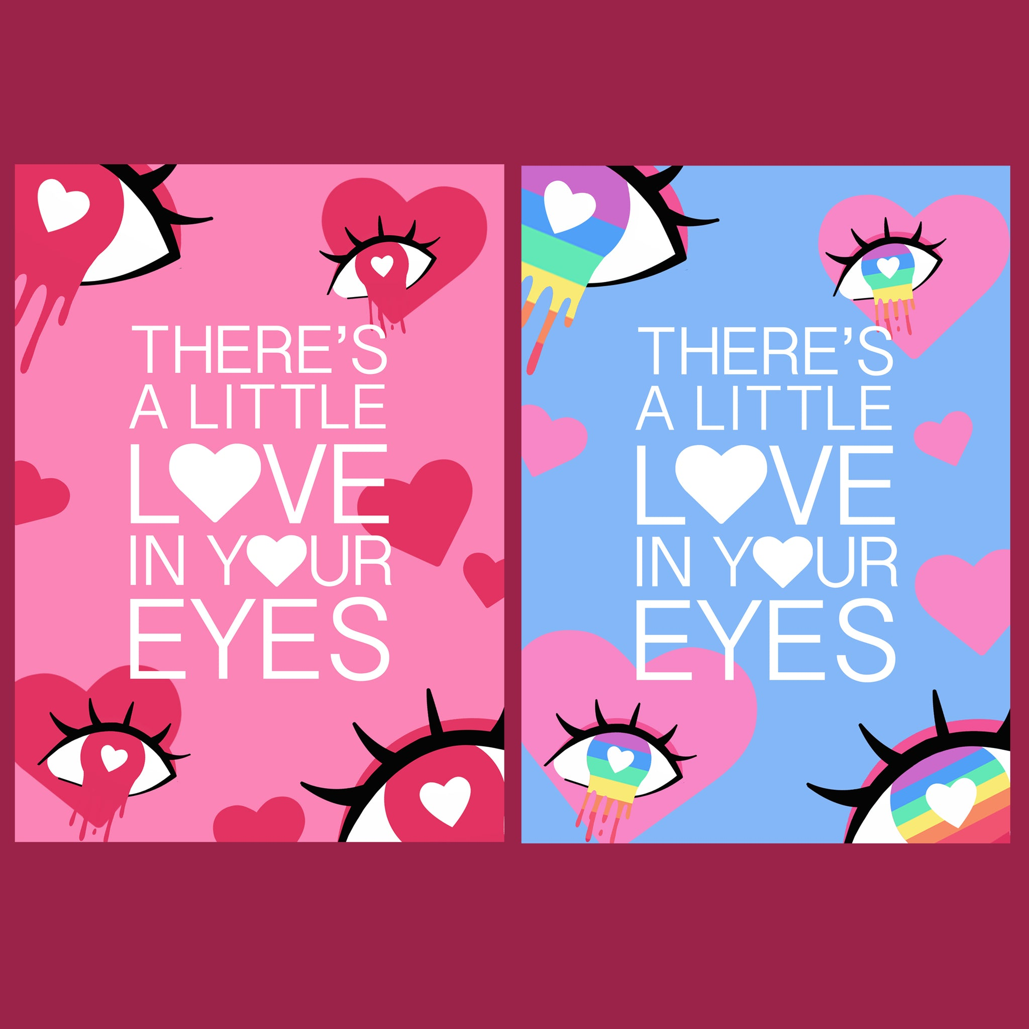 There's a Little Love Prints