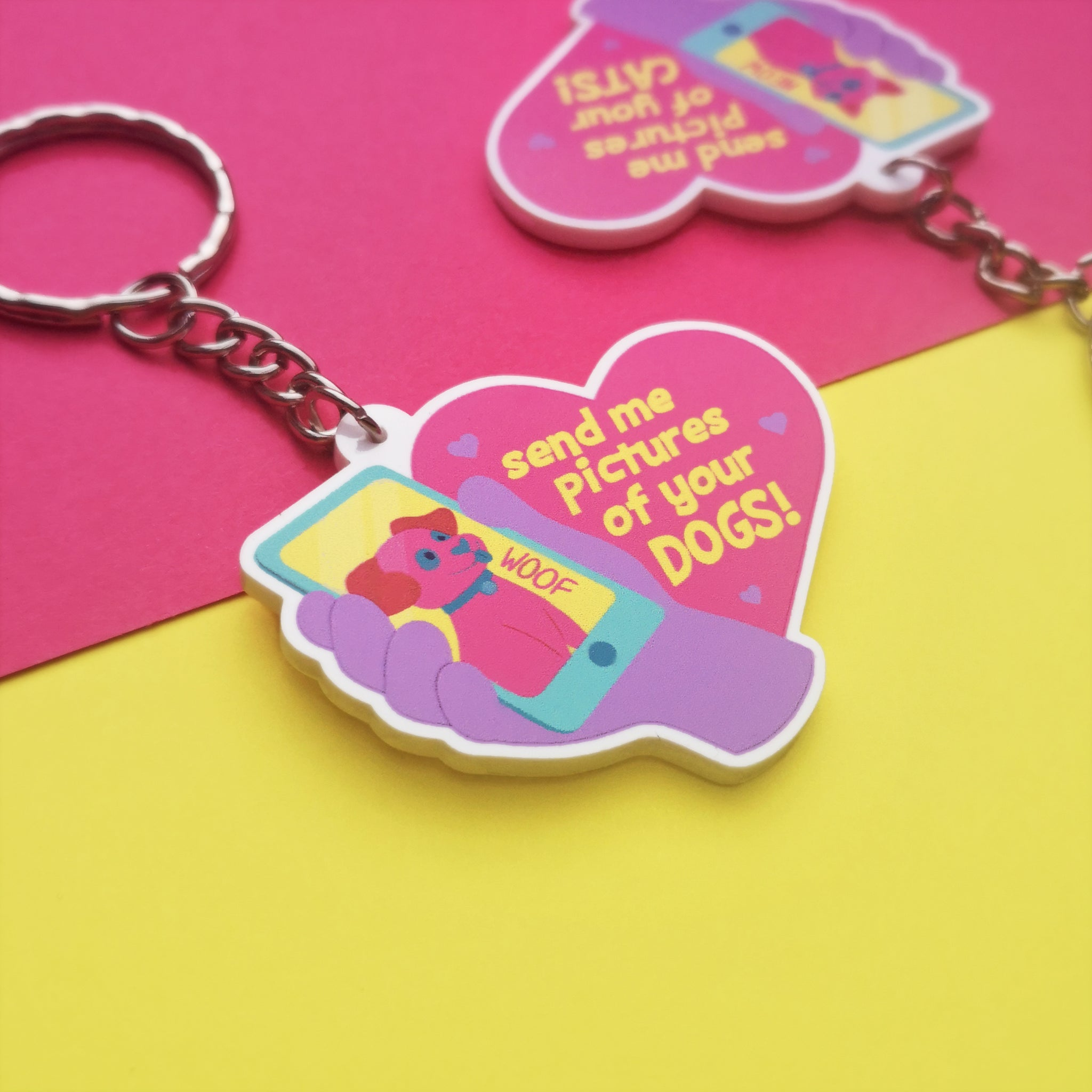 Send me pictures of your DOG Keychain