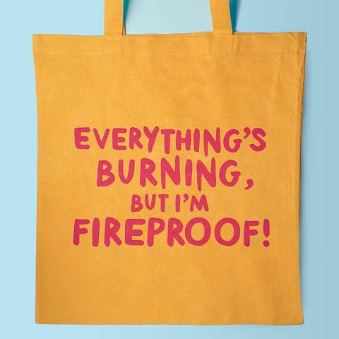 Everything's Burning Tote Bag
