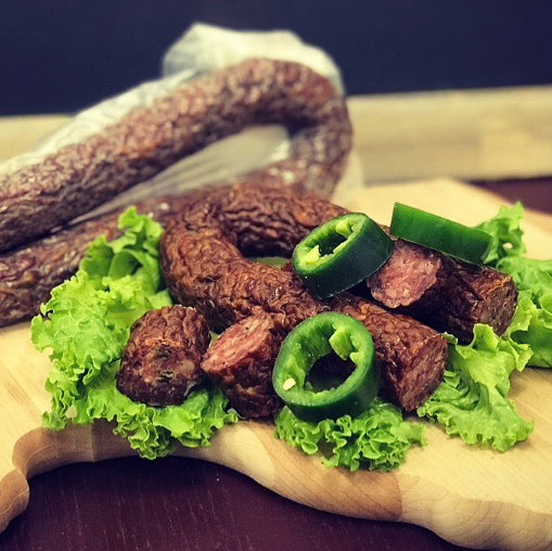 Jalapeno Dry Sausage (2 Packages)