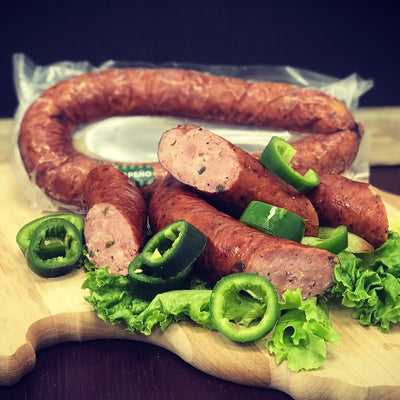 Jalapeno Smoked Sausage (3 Packages)