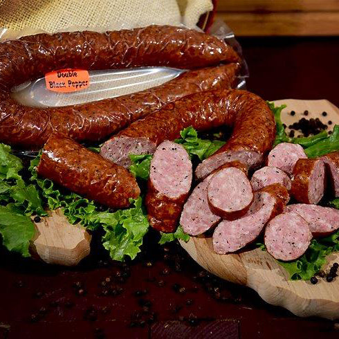 Double Black Pepper Smoked Sausage (3pk)