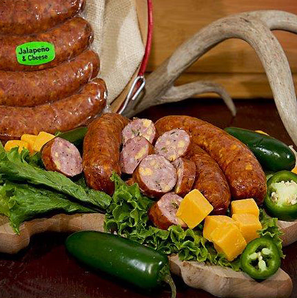 Jalapeno & Cheese BBQ Style Smoked Sausage (3 Packages)