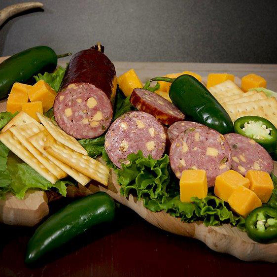 Jalapeno & Cheese Summer Sausage (2 Packages)
