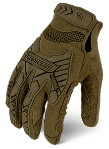 Guantes IRONCLAD COMMAND™ TACTICAL IMPACT Coyote