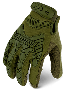 Guantes IRONCLAD COMMAND™ TACTICAL IMPACT Verde