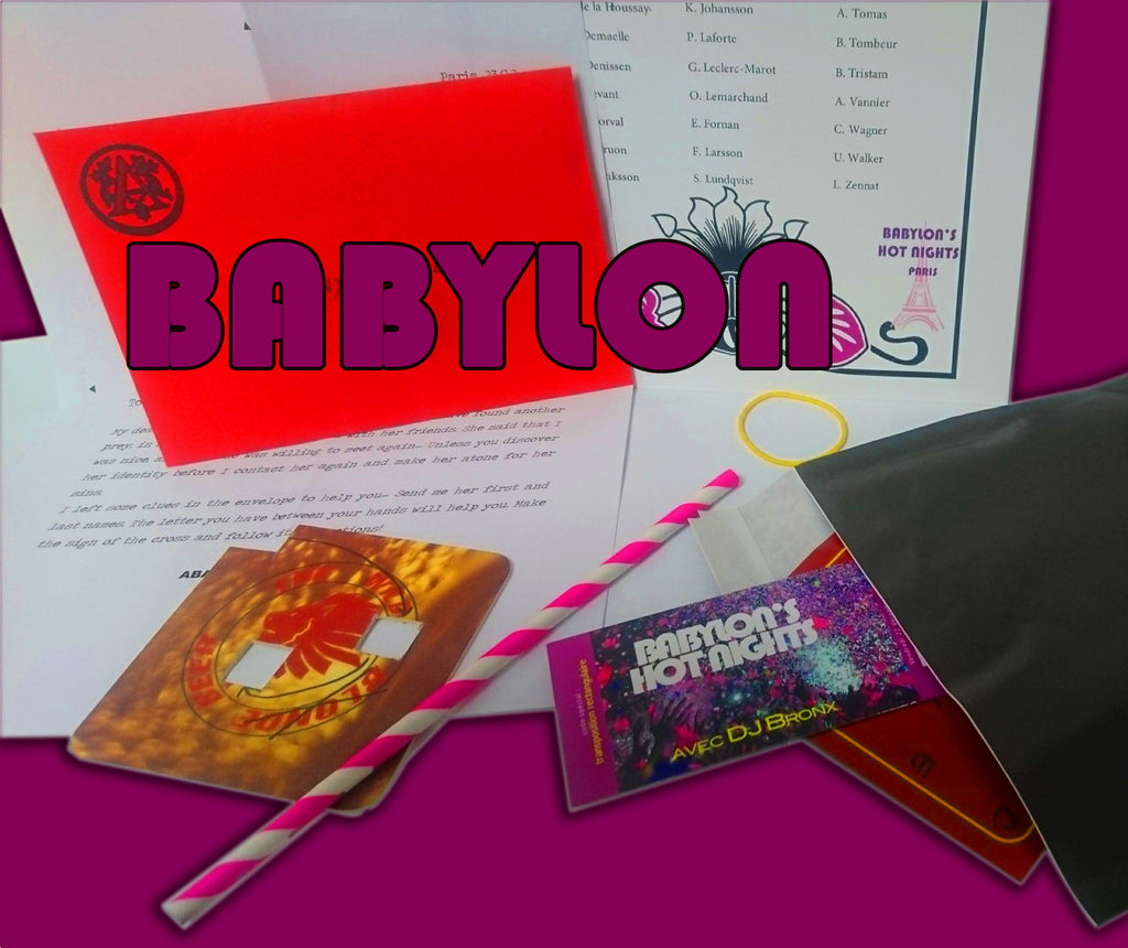 Pocket Investigations | Babylon