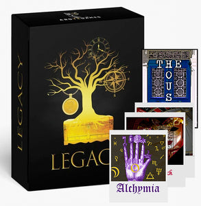 "LEGACY + The House + Alchymia + Pocket Investigations x2 (""The Collector"")"
