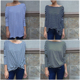 Piko Long Sleeve - Stripes