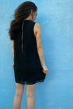 Boat Neck Shift Dress
