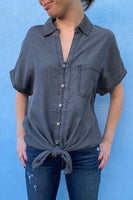 Tencel Button Down