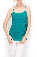 Scalloped Tiered Cami