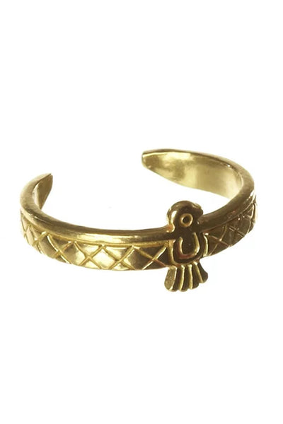 Native Bird Cuff Ring