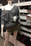 Rosa Kitted V-neck Sweater