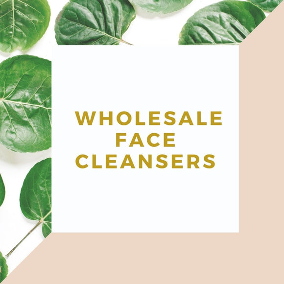 Wholesale Face Cleansers (1/2 Gallon or Gallon)