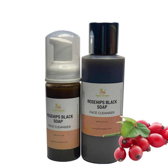 Rosehips African Black Soap Face Cleanser