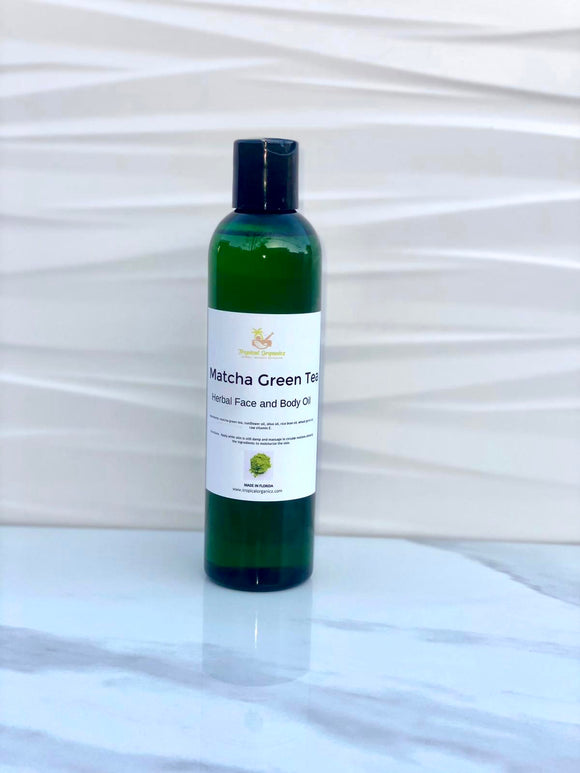 Matcha Green Tea Herbal Face and Body Oil