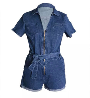 Blue's Romper - The Divaz Closet