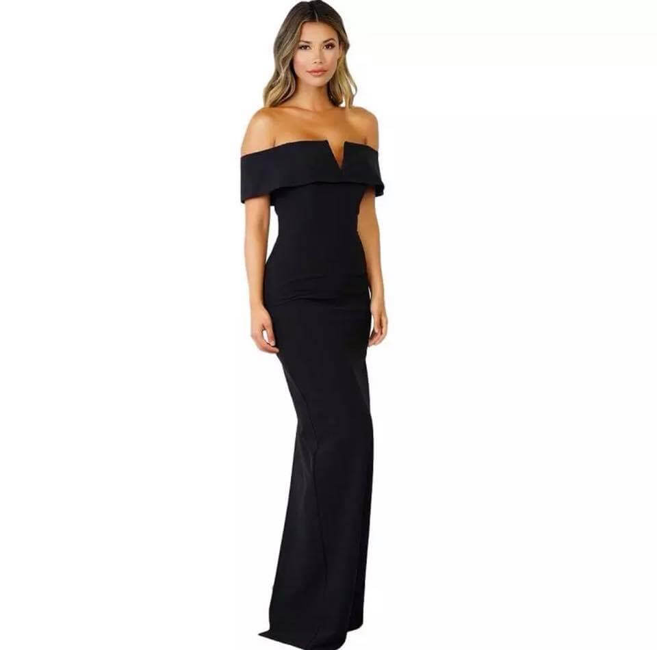 Sandra's Black Dress - The Divaz Closet