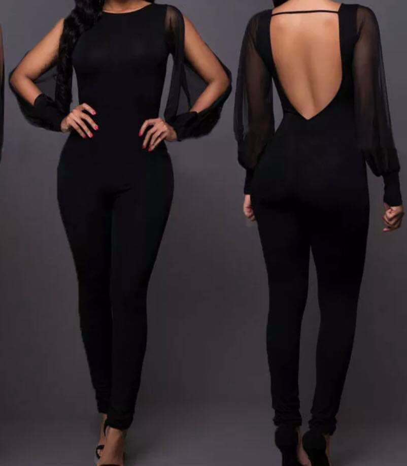 Midnight Jumpsuit - The Divaz Closet