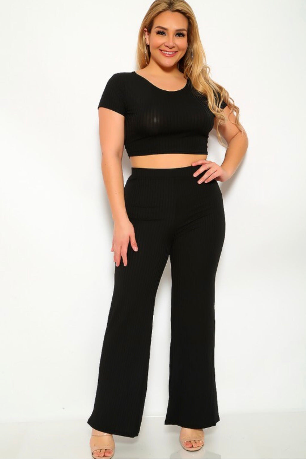 Curvy Girl Two Piece Set