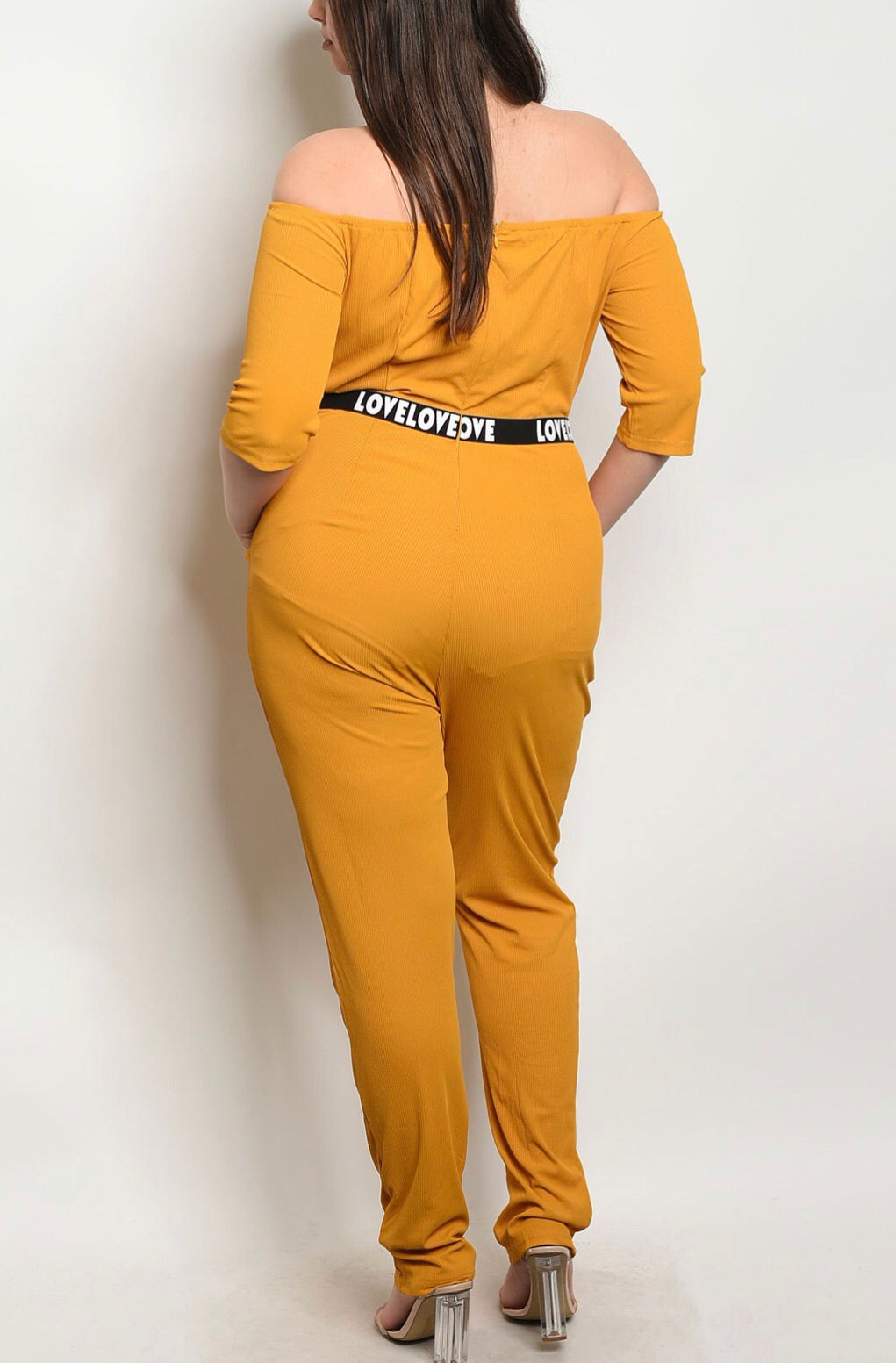 Yellow Love Jumpsuit