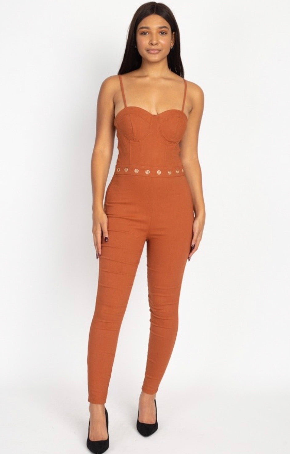 Bonnies Jumpsuit - The Divaz Closet