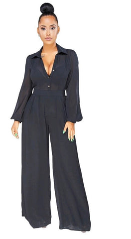Black Mustard Jumpsuit