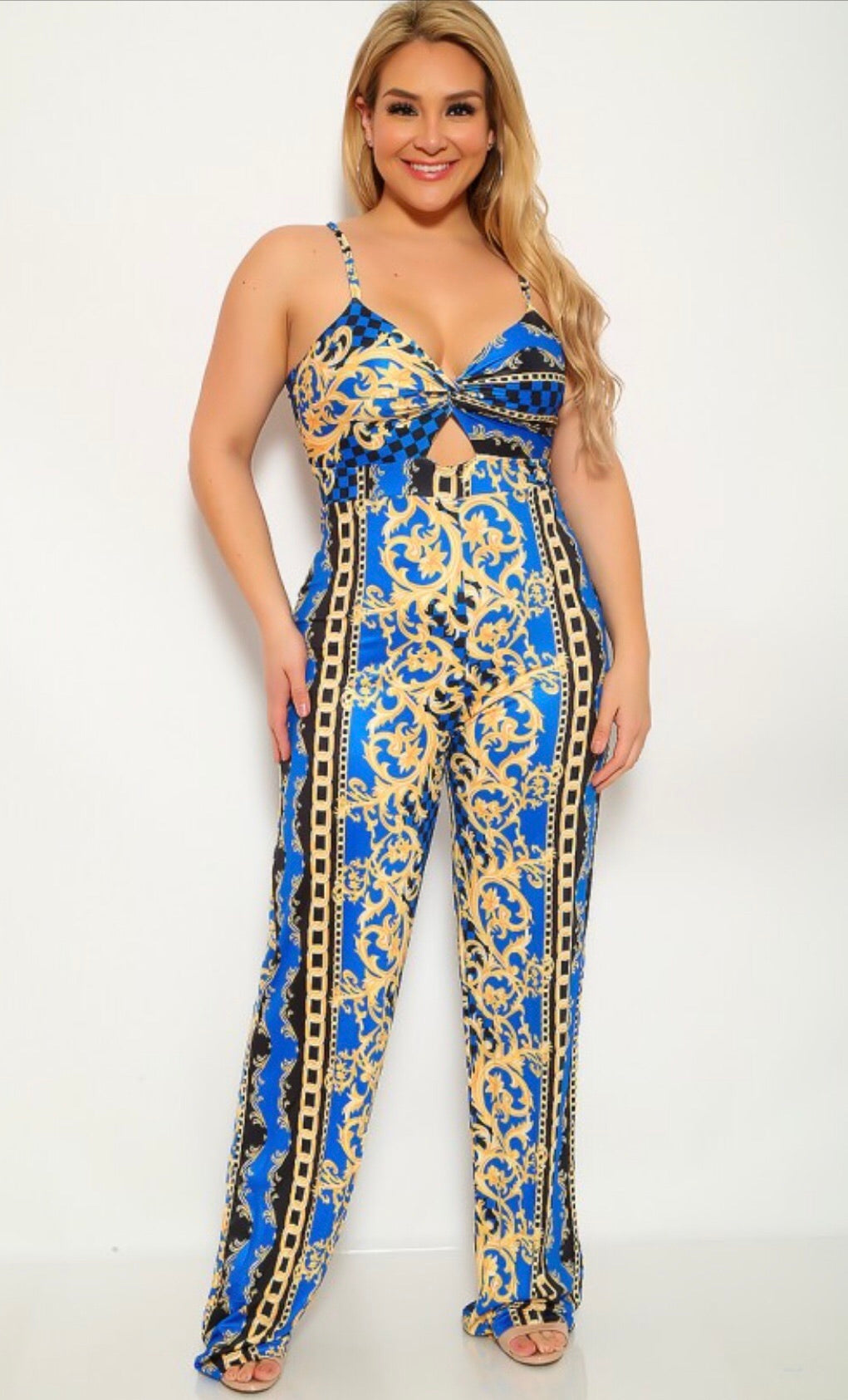 Midnight Blue Jumpsuit - The Divaz Closet
