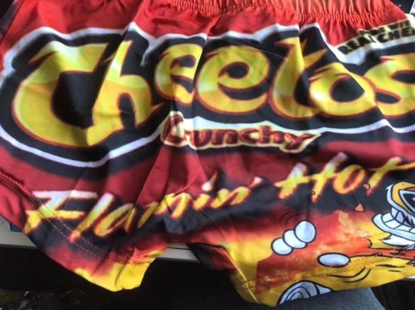 Cheetos Snack Shorts