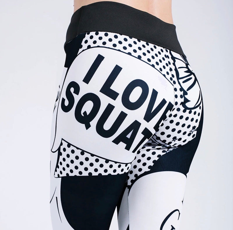 I love squat legging