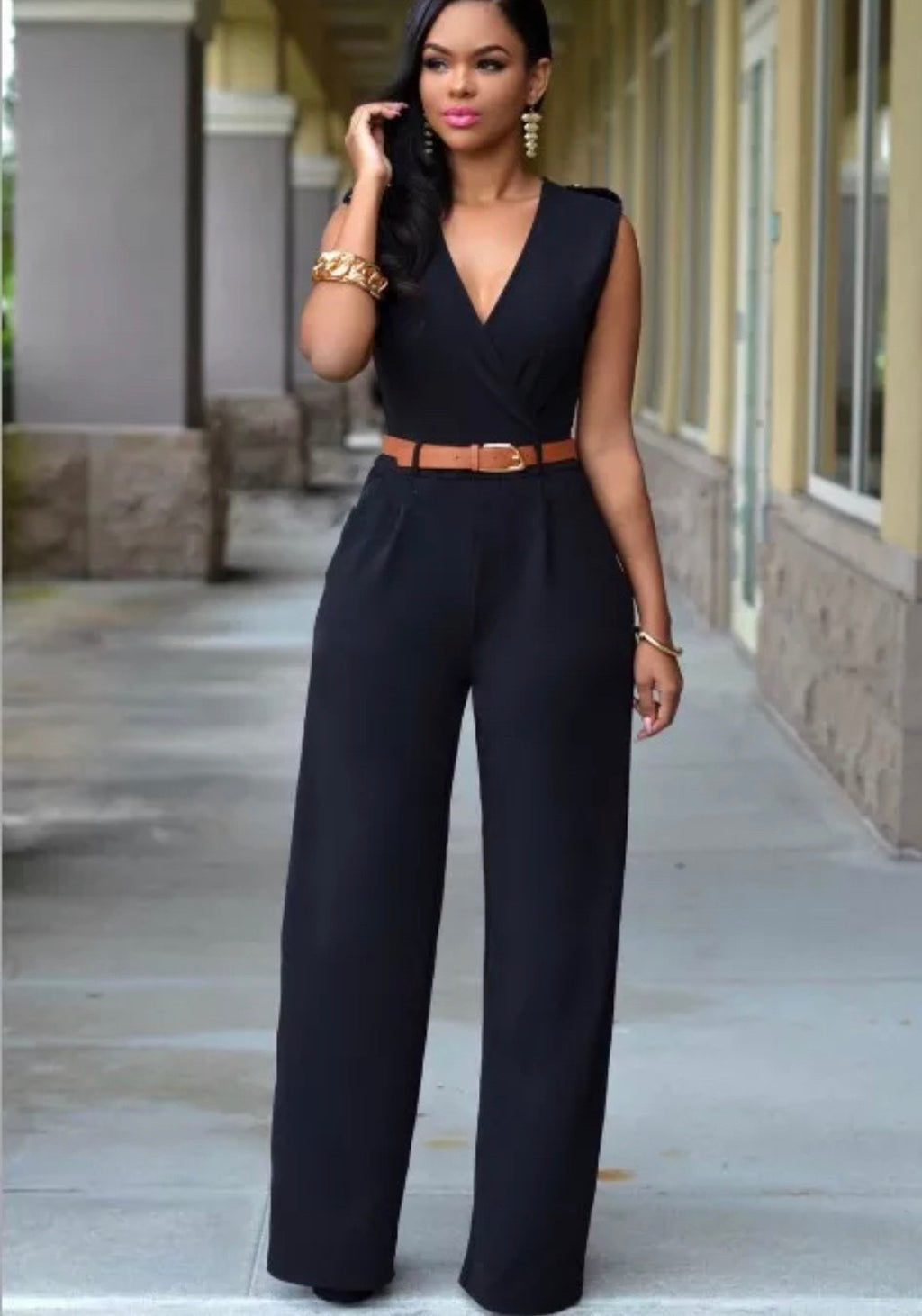 Katie's Sleek Jumpsuit