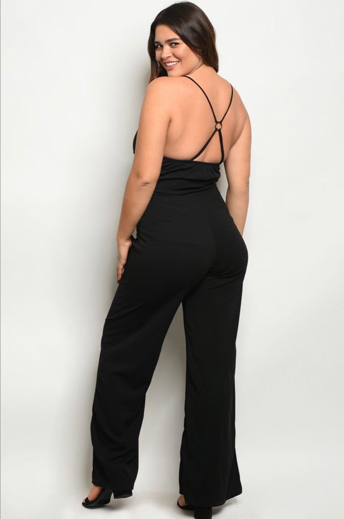 Sexy Black Jumpsuit