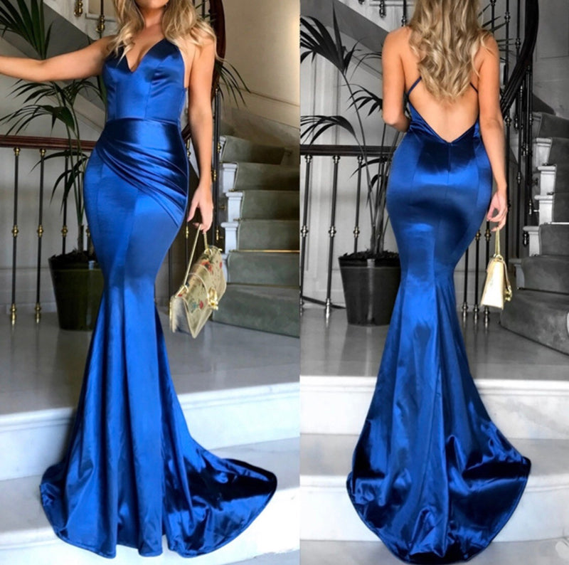 Michelle Midnight Blue Dress