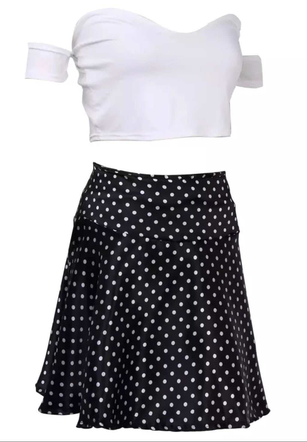 Polka Dot skirt set