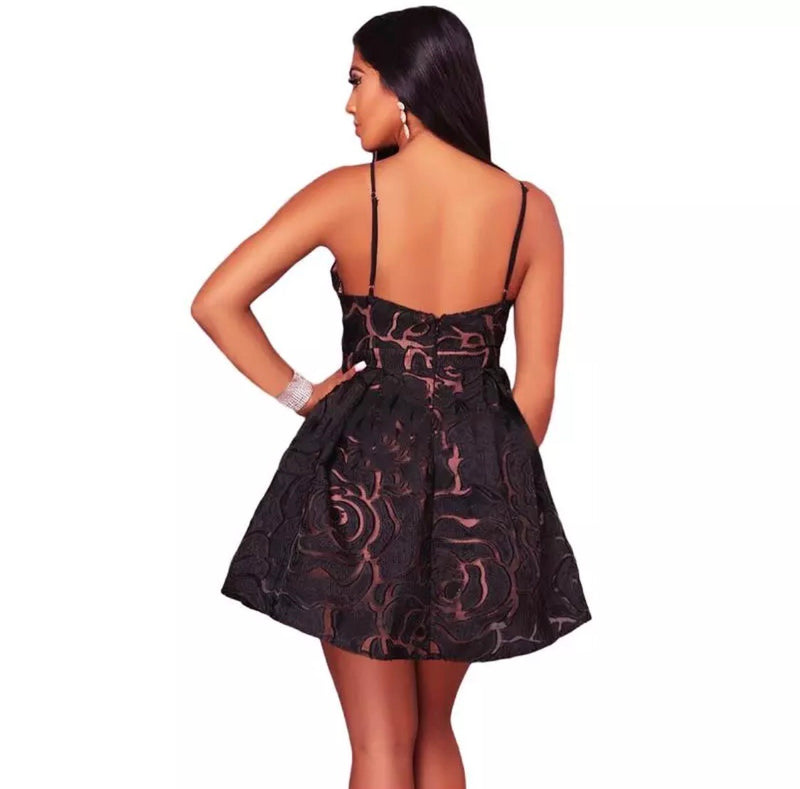 Sassy Mini Dress - The Divaz Closet